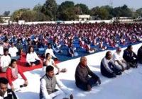 आज विवेकानन्द जयंती : सामूहिक सूर्य नमस्कार का आयोजन