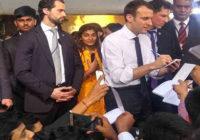 फ्रांसीसी राष्ट्रपति के साथ सीधा संवाद : देश के 10 युवाओं में शहर की बेटी भी