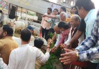 आज सीएम का जन्मदिन, मंत्री ने तिलकेश्वर मंदिर में किया दुग्धाभिषेक