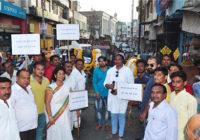 PM मोदी और शिवराज सरकार पर भड़की कांग्रेस, निकाली अनूठी शवयात्रा…