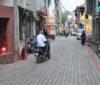 सवारी मार्ग पर पैवर ब्लॉक खतरनाक