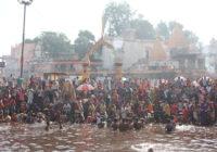 स्नान दान अमावस्या पर हजारों श्रद्धालु पहुंचे रामघाट