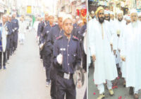 बोहरा समाज के ईद मिलादुन्नबी जुलूस में अनुशासन का पाठ