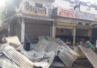 सिंधी कॉलोनी की भदाले चाय दुकान भी तोड़ी