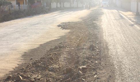 सीवरेज लाइन प्रोजेक्ट: ऋषिनगर के रहवासी भी हुए परेशान