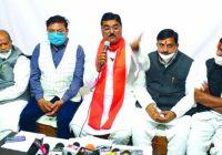 मोदी के विकास के विरोध में कुकुरमुत्ते की तरह बने 500 किसान संगठन- मंत्री पटेल