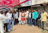 कृषि कानून के विरोध और किसानों के सम्मान में कांग्रेस की पदयात्रा शुरू