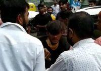 उज्जैन में लूट के आरोपी की पिटाई राहगीर का मोबाइल छीनकर भागा