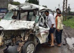 उन्हेल रोड पर दर्दनाक सड़क हादसा,4 की मौत